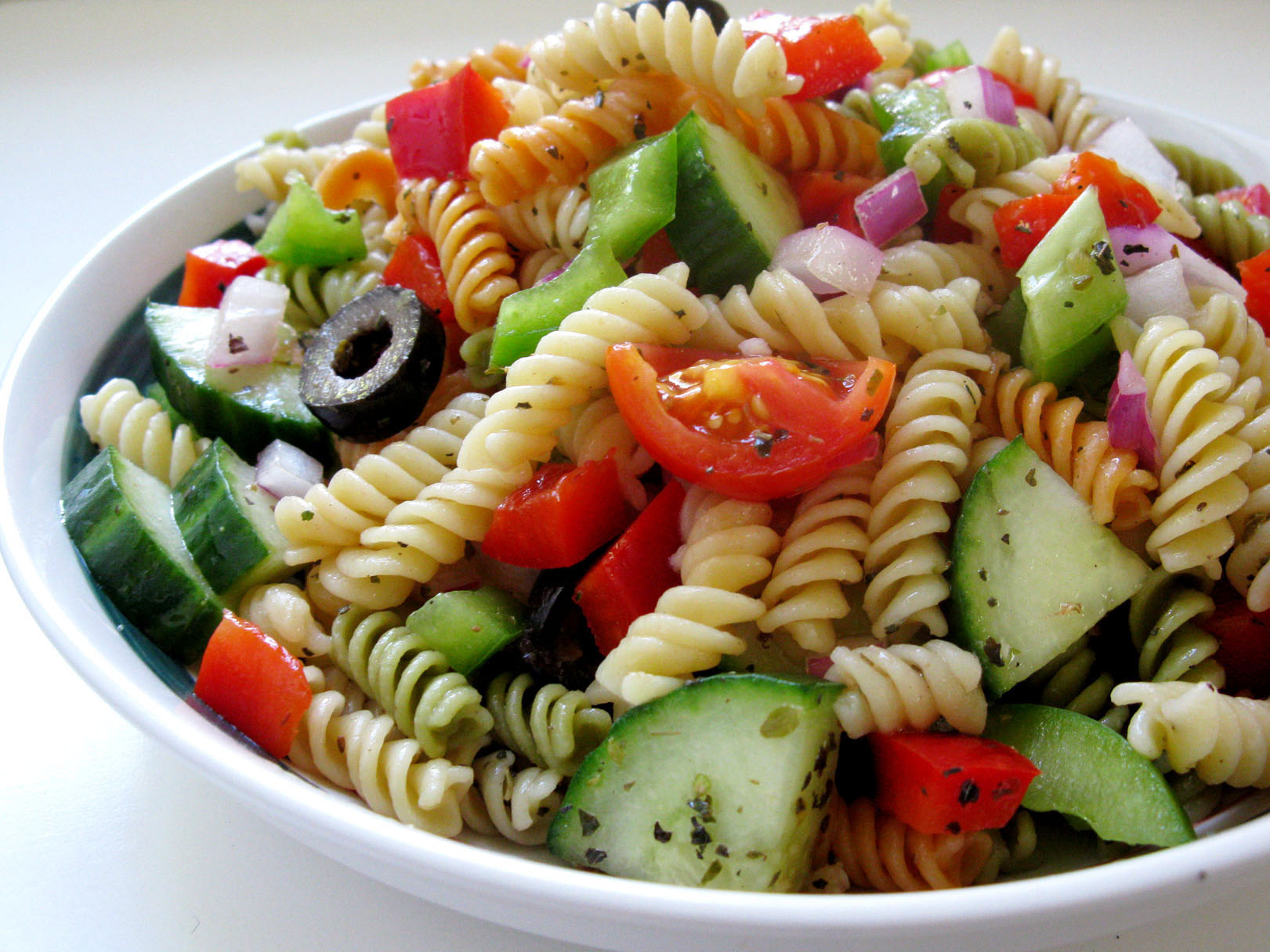 salatbarinn-Greek Salad Pasta